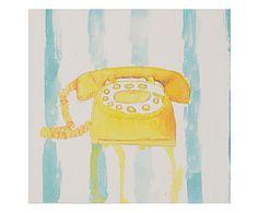 Gravura Telefone - 14,5x14cm