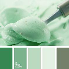 mint green color palette