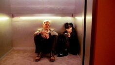 "NCIS Season 3 Episode 21 - ""Bloodbath"" ~ Gibbs and Abby in the elevator. One of my all-time favorite scenes with these two."