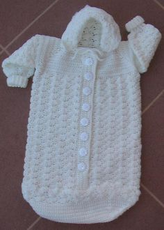 Cozy Baby Bunting project on Craftsy.com - B is for Baby (Annie's Attic: Crochet) Paperback Book ($3.22 on Amazon)