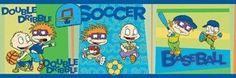 Rugrats Cartoon Sports Wall Border