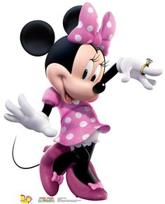 Complete your Minnie Mouse party supplies with our Minnie Mouse Life-Size Cardboard Cutout. This Minnie cutout is great for DIY photo booths and Disney party decorations. Mickey Minnie Mouse, Disney Mickey Mouse Clubhouse, Pink Minnie, Minnie Mouse Party Decorations, Mouse Parties, Imprimibles Paw Patrol, Life Size Cardboard Cutouts, Party Props, Ideas Party
