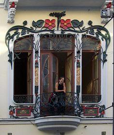 A janela   Baixa  do Porto,   Portugal