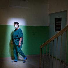 """A nurse at work at Zugdidi regional TB hospital, in Georgia's Samegrelo region, where MSF first started working in 2006. """"The question people ask me most often is, 'aren't you afraid of working here?' I tell them, 'of course not.' And I give them more information about TB."""" Since 2015, Georgia has been one of 15 countries hosting the endTB project (endTB.org) - a partnership among Partners In Health, Médecins Sans Frontières, Interactive Research and Development, funded by UNITAID. The…"""