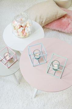 Inspirações de decor com Rose Quartz