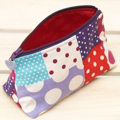 Polka Dot Cosmetic Pouch £12.00