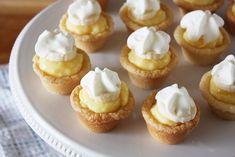 mini banana cream cookie pies-using sugar cookies for crust is genius!  So many possibilities...