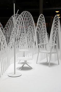 Sthlm Furniture Fair - White lounge