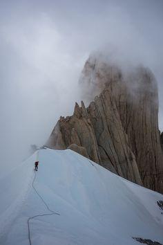 BD athlete Kate Rutherford reports on climbing Patagonia's Fitz Roy // Black Diamond Journal
