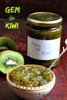 Gem de kiwi dulce acrisor Kiwi, Chutney, Conservation, Gems, Homemade, Breakfast, Recipes, Food, Canning