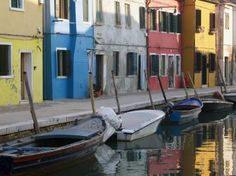 Colourful Cottages On Burano Art Print The World's Greatest, Venice, Fine Art America, Saatchi Art, Original Art, Italy, Art Prints, Wall Art, The Originals