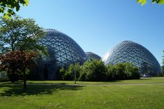 Mitchell Park Horticultural Conservatory in Milwaukee, WI
