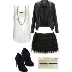 LadyLaura #newyearseve #fringe #leather