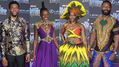 """""""Black Panther"""" premiered in Hollywood and the red carpet looks were incredible!"""