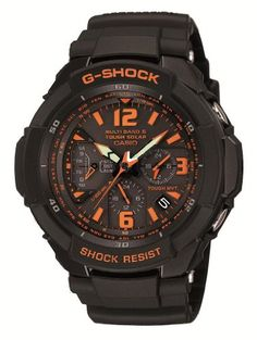 CASIO GSHOCK SKY COCKPIT Tough Solar Radio Controlled MULTIBAND 6 GW3000B1AJF Japan Import *** Read more  at the image link.