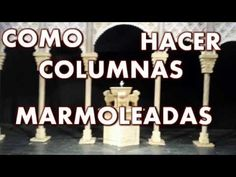 TECNICAS DE PINTURA - YouTube Miniature Youtube, Marble Columns, Pasta Flexible, Hobbies And Crafts, Margarita, Nativity, Decoupage, Lol, Ecuador