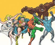 Avengers (Earth-9904)  Jimmy Woo,3-D Man, Gorilla-Man, The Human Robot, Marvel Boy, Venus Allies Wasp, Captain Marvel