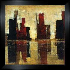 Cape Edwin 'Vision II' Framed Canvas Art