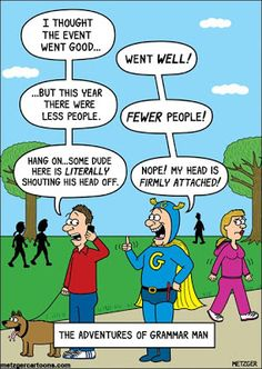 Mystery Fanfare: Cartoon of the Day: The Adventures of Grammar Man