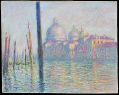 Claude Monet, Grand Canal, Venice, 1908.