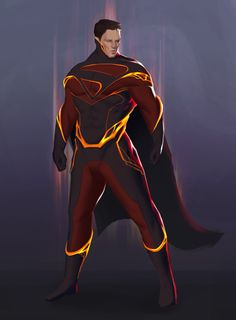 Superman Redesign by  John Trinh