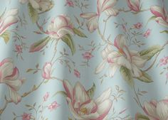 Lilium Eau De Nil by iLiv at Eden Fabrics Curtain Fabric, Curtains, Scatter Cushions, Fabric Samples, Craft Patterns, Machine Embroidery Designs, Print Design, Textiles, Prints
