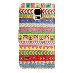 Stylish Painting Faux Leather Flip Case for Samsung Galaxy S5/i9600 – USD $ 11.99