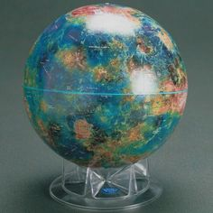 Venus Globe,12 Inch  The Venus globe was designed in cooperation with NASA and represents over a decade of radar imaging that culminated in the 1990-94 Magellan mission.