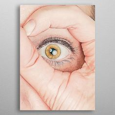 I Can See You detailed, premium quality, magnet mounted prints on metal designed by talented artists. Our posters will make your wall come to life. Wall Art Prints, Poster Prints, Canvas Prints, Fine Art Posters, Painted Cups, Muse Art, Office Art, Canvas Pictures, Print Artist