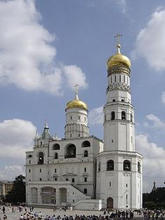 Ivan the Great Bell Tower (the Kremlin, Moscow, Russia)