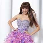 Sweet 16 dresses can be simple or elaborate--this option here is super cute but not exactly budget friendly!!
