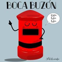 Boca buzón by Lilileando