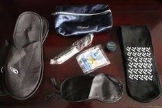 Do you have the necessary travel survival kits that will make your long-haul flight comfortable?