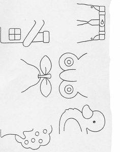 Actividades para niños preescolar, primaria e inicial. Fichas para imprimir en las que tienes que completar los dibujos y colorearlos para niños de preescolar y primaria. Completar y Colorear. 56