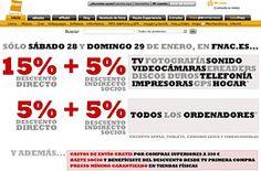 Solo hoy 15%+5% de #descuento en electrónica telefonía, hogar ... 5%+5% en PCs http://yfrog.com/odj72dkj http://www.expotienda.com/index.as