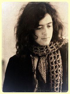 Jimmy Page of Led Zeppelin