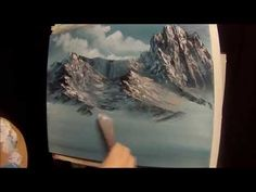 Mirror Mountain Painting With Magic wet on wet oil painting full show season 3 ep 3 - YouTube
