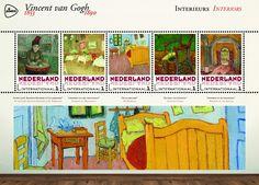 Schilderijen Vincent van Gogh - Bloemen  http://collectclub.postnl.nl/spec-map-van-gogh-nederland-int.html