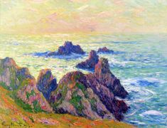 The Athenaeum - Rocks in Brittany (Henri Moret - )