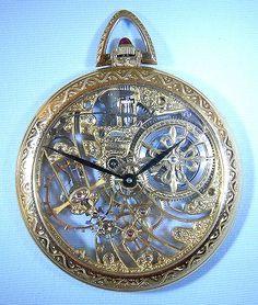 Bogoff Antique Pocket Watches Skeletonized Patek Philippe - Bogoff Antique Pocket Watch # 6670