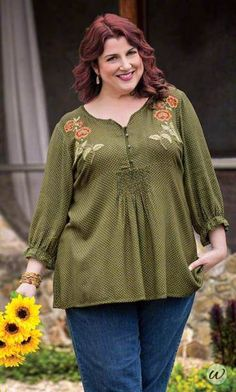 Cottswald Blouse | Plus Size Fashion For Women | Fall Style