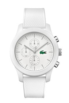 Lacoste L.12.12 Silicone Wristwatch