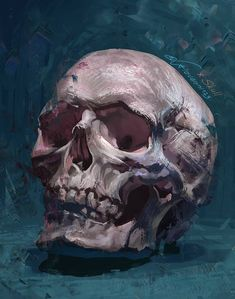 is right around the corner, do you need some ideas for decor? This vibrant acrylic skull painting will add a spooky pop of color to your home for the holiday. Art By: Arteza Team Skull Painting, Painting & Drawing, Art Sketches, Art Drawings, Drawn Art, Arte Sketchbook, Anatomy Art, Skull Art, Aesthetic Art