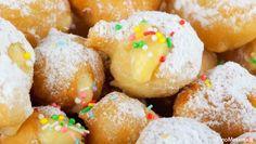 Le bignole, espressione dialettale per indicare un dolce simile al bignè, sono dei tipici dolcetti fritti, spesso ripieni di crema pasticcera, preparati in occasione del Carnevale.   Tempo di preparazione: 45 minuti circa Tempo di cottura: pochi minuti a bignola Difficoltà: bassa  Ingredienti per 4 persone:- 300 ml di acqua - 200 g di farina bianca - 80 g di burro - 3 uova - 1 bustina di