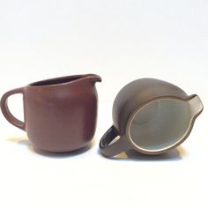 A personal favorite from my Etsy shop https://www.etsy.com/listing/463353613/heath-ceramics-creamer-small-pitcher