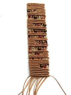 Tutorial bracciale Maya con il macramè | Handmade in Italy