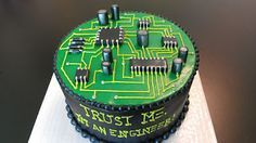 electrical engineer grooms cake - Google Search