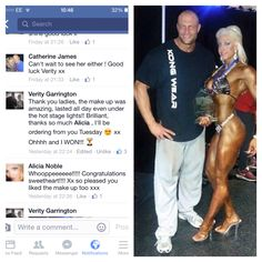 #HUGE #CONGRATULATIONS #Verity #winning #Best AthleticFigure #hullshow #AWESOME #beautiful #lady!!#totally #rocking #uounique #lipstain #Skittish!!! Right picture is Verity and her husband Stuart #owner #eborfitness with her award.. Left picture is Verity's #feedback on #Younique!!! That's right people.... Even under #extreme #heat... Our #makeup doesn't budge!! #BOOM!!!!! To buy yours visit my website www.alicianoble.com  Or #findme on #facebook #youniquebeautybyalicia  web address…