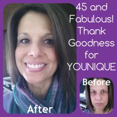 Wow look what younique products can do for you! http://youniqueproducts.com/SimplyYouniques/