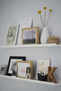 https://flic.kr/p/bfHSwP | Picture ledge in the office | We had these picture ledges in our old living room over the sofa but now they are in the office above my computer.